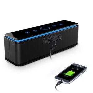 Image 3 - Zealot S7 3D Bass Stereo Không Dây Loa Bluetooth Soundbar Điều Khiển Cảm Ứng Di Động 26W Aux Thẻ TF 20 H Phát Lại
