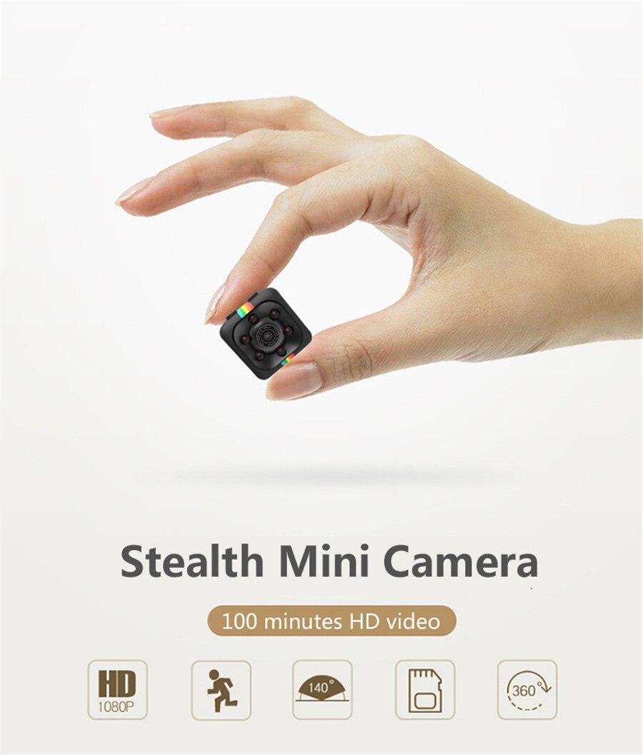 FULL HD 1080 P Mini Macchina Fotografica Micro Cam SQ11 Digital Video Camcorder Recorder Bike Helmet Vocale Sorveglianza Segreta Espia Sicurezza