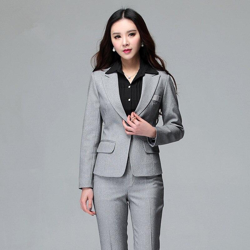 Online Get Cheap Ladies Office Trouser Suit Aliexpress Com