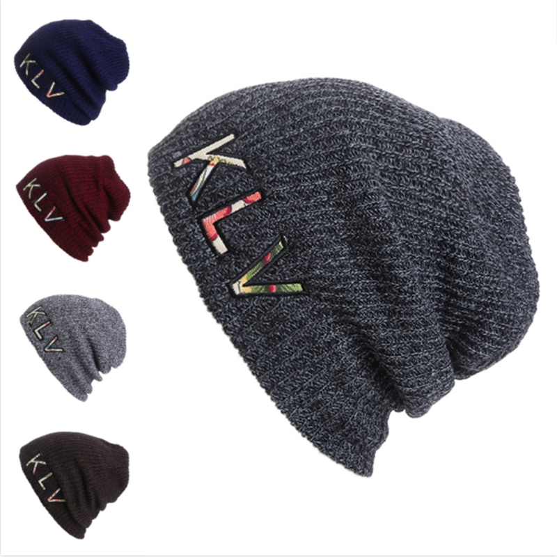 Winter Beanies Solid Color Hat Unisex Plain Warm Soft Beanie Skull Knit Cap Hats Knitted Touca Gorro Caps For Men Women W715