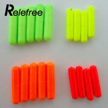 Relefree 100Pcs Fishing Float Stops For Bobber Line Grips Floater Carp Tackle Gear Tool Color Random