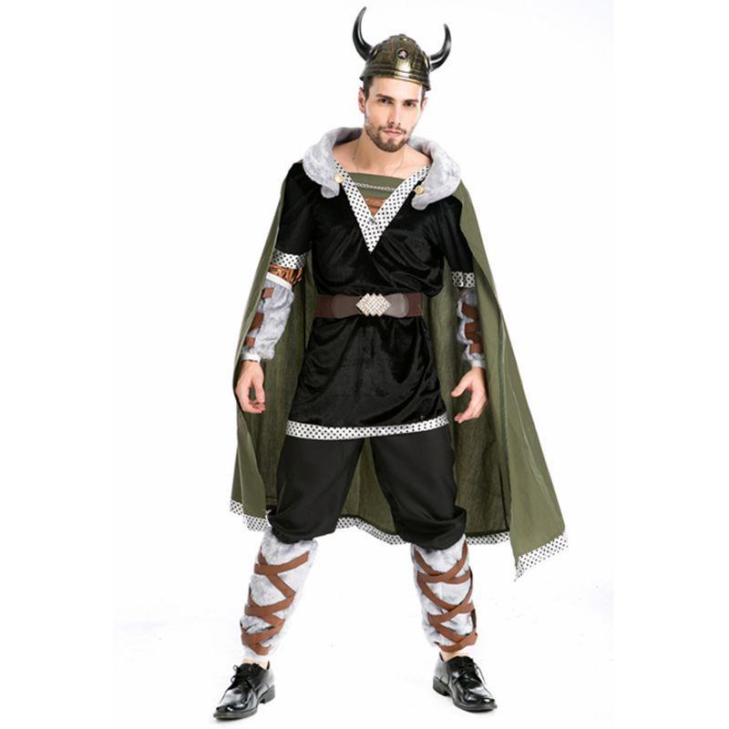 Cattle devil halloween costume for men disfraces adultos pirate costume medieval cosplay costume disfraces halloween fancy dress