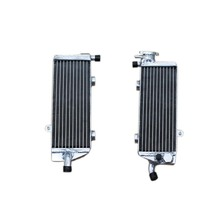 ALUMINUM RADIATOR For HUSABERG FE 370 450 570 2009 2010 2011 water box motorcycle replacement parts engine cooling parts