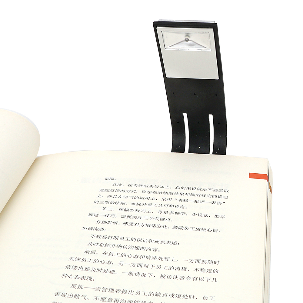 ITimo Clip-on Book Reading Lamp with Battery Adjus