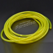 (5 meters)Gas Engine Machine Oil Pipe Yellow Color Fuel Hose with Diameter 2.5mm*5mm 5M Length