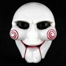 Halloween Party Cosplay Billy Jigsaw Saw Puppet Mask Popular Masquerade Costume Props Increase Festive Atmosphere