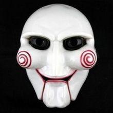 Halloween Party Cosplay Billy Jigsaw Saw Puppet Masker Populaire Maskerade Kostuum Props Verhogen Feestelijke Sfeer