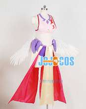 New Arrival Anime Custom Made No Game No Life Jibril Dress Cosplay Costume