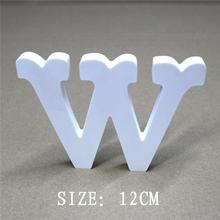 12 см искусственные деревянные буквы Алфавит a z и 0 9 используется