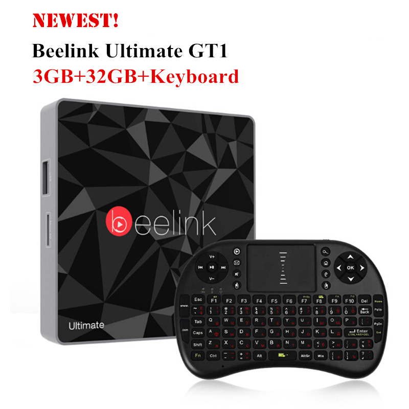 Prix pour Beelink gt1 ultime 3g 32g tv box android 6.0 amlogic s912 octa core Media Player 5G WiFi BT 4.0 Smart Box Set Top Box PK X92