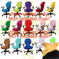 elastic computer chair cover spandex office chair cover dining chair rotating chair cover only