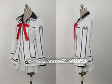 Customized cualquier tamaño vampire knight yuki cosplay cos cruz womens dress uniform