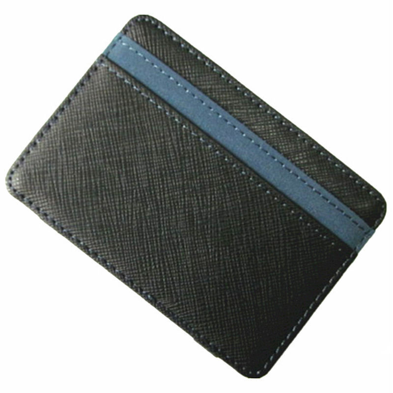 New Slim Magic Wallet leather Purse Small Wallets Carteira Magica Porte Monnaie portefeuille femme carteira masculina leather wallet mini wallets monedero hombre porte monnaie homme mens wallets small