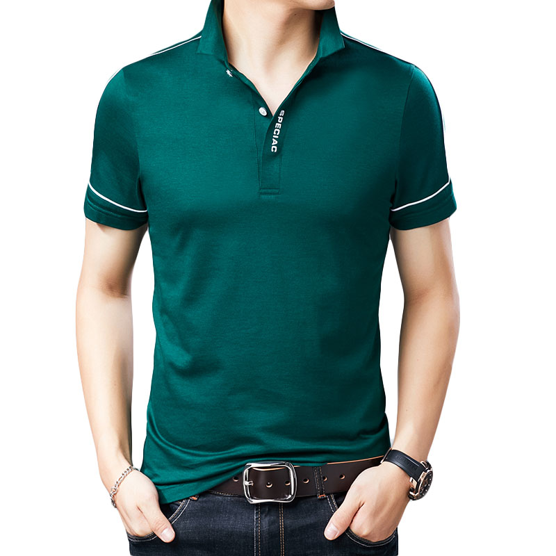 LEFT ROM 2018 Men   Polo   Shirt Fashion Men Casual Pure Cotton Male   Polo   Shirt Long Sleeve Soild Turn-down Collar   Polo   Shirts XXXL