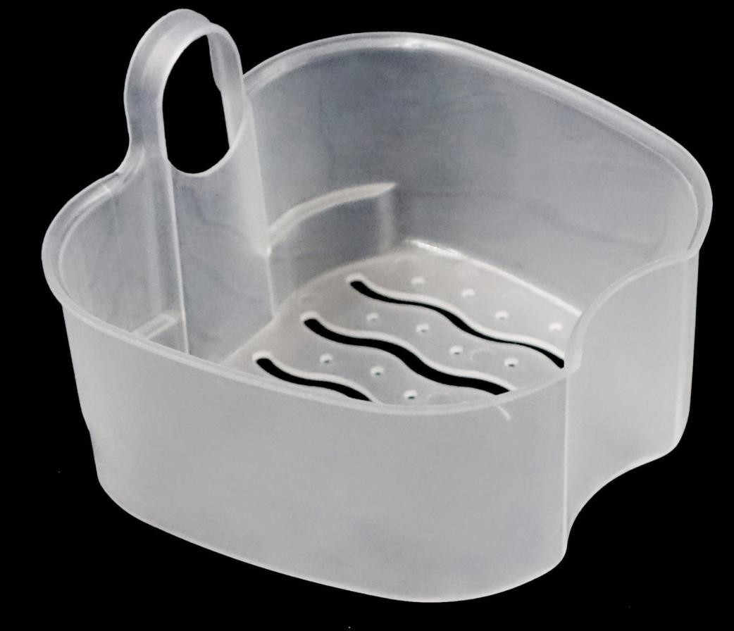 Prothese Bad Box Reinigung Zähne Fall Dental Falsche Zähne Lagerung Box Mit Hängen Net Container Container Prothese Boxs Container
