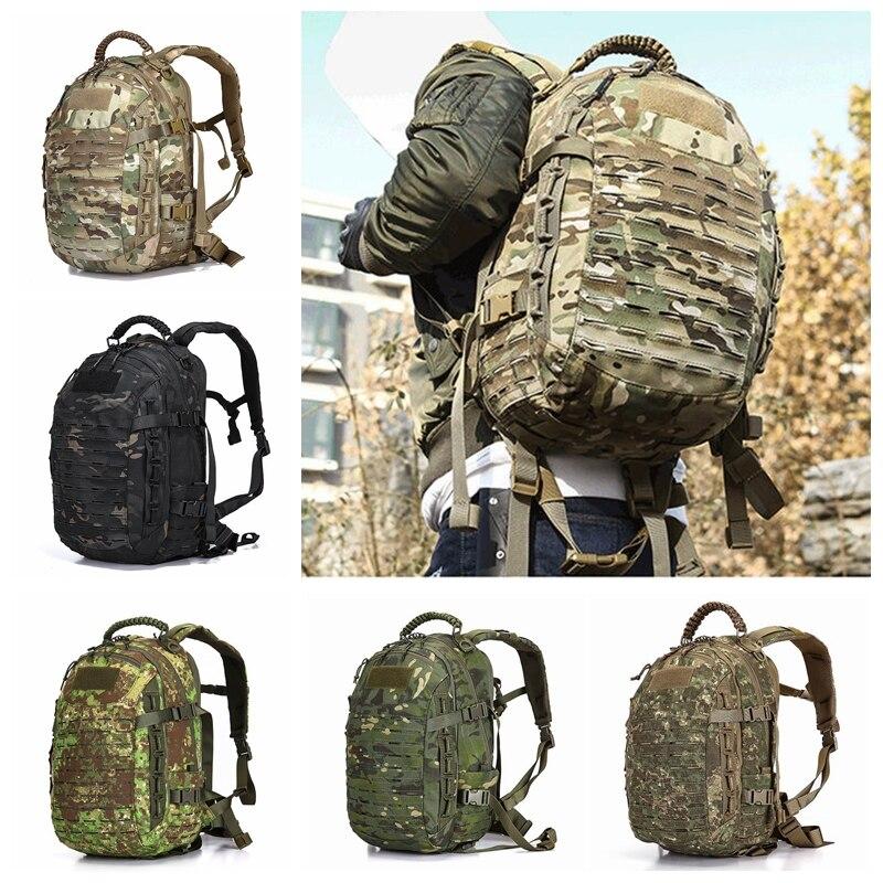 25L militaire tactique assaut Pack sac à dos armée Molle sac étanche petit sac à dos pour la randonnée en plein air Camping chasse