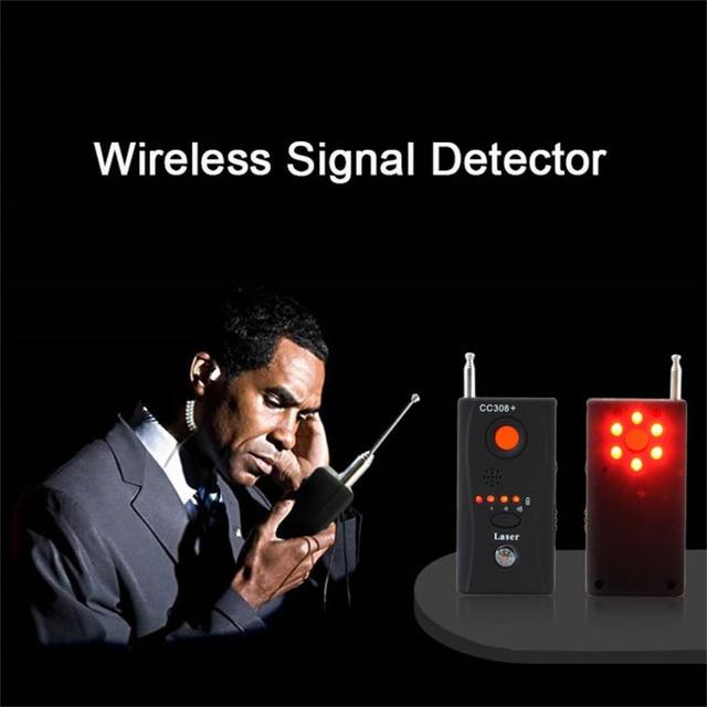 1 Sets Wireless RF Signal Detector CC308 + Multi-Function Camera GSM Alarm System built-in battery Full Range 3