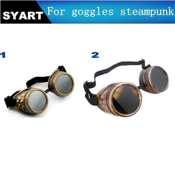 Vintage Steampunk Lunettes Lunettes De Soudage Cyber Gothique Punk Cosplay