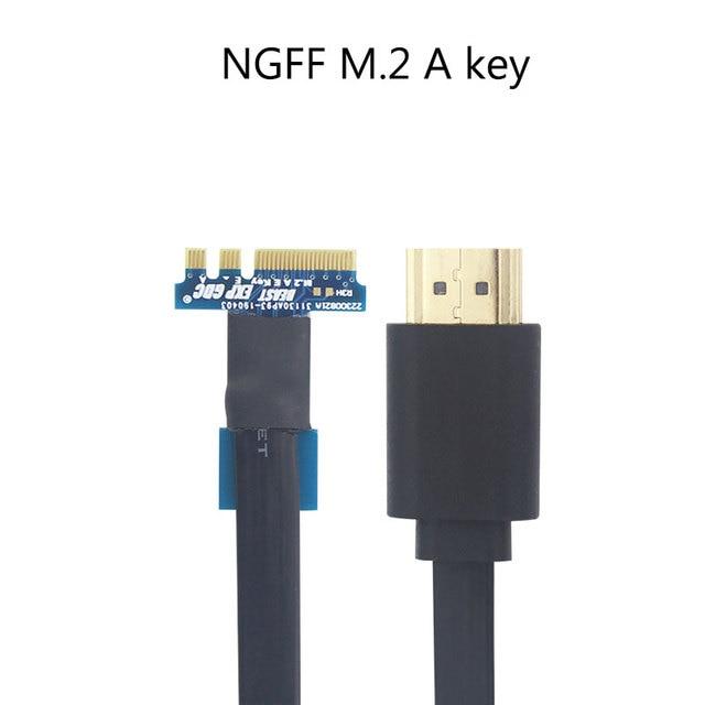 PCI-E EXP GDC External Laptop Video Card Dock Graphics Card Laptop Docking Station ( Mini PCI-E / NGFF / Expresscard interface) 3