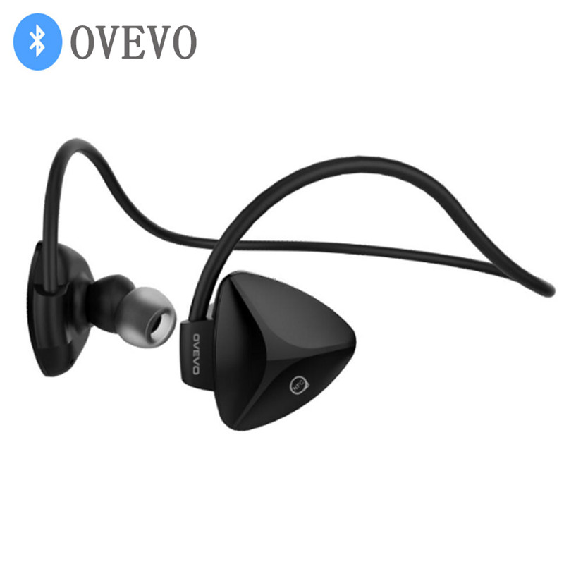 OVEVO SH03B Wireless Headphones Sports Bluetooth Headset Running Auriculares Earbuds Bass Handsfree Ear Hook Earphone For Phone wireless bluetooth headset running earphone ear hook with mic earbuds for iphone xiaomi mobile pc lg sports headphones