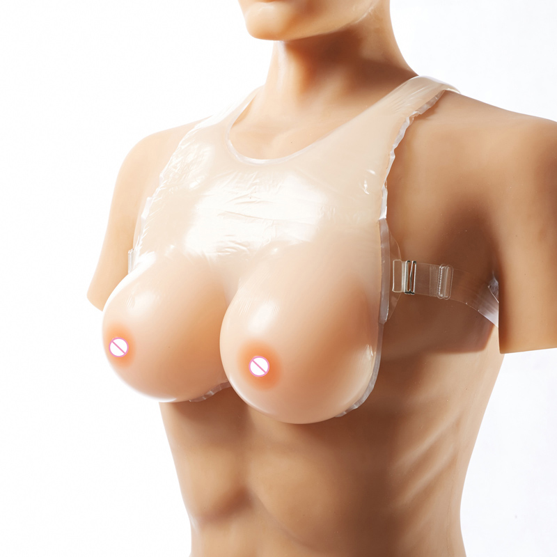 800g 1000g 1200g Realistic Silicone Breast Forms Artificial Huge False Boobs Enhancer Crossdresser For man shemale Trandsgender hot big g cup artificial silicon rubber boobs false breasts for shemale crossdresser man