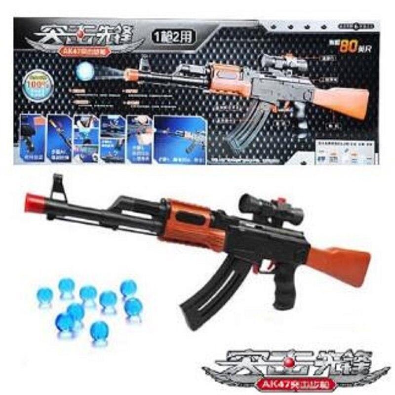 2018 Rifle AK 47 Toy Gun Pistol Gun Water Absorb Bullet eva Soft Bullet Soft Foam Bullet Orbeez Water Gun Airgun Toys For Kids