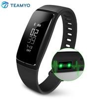 TEAMYO V07 Smart Band Watches Blood Pressure Heart Rate Smart Bracelet Fitness Tracker Pedometer Alarm Clock