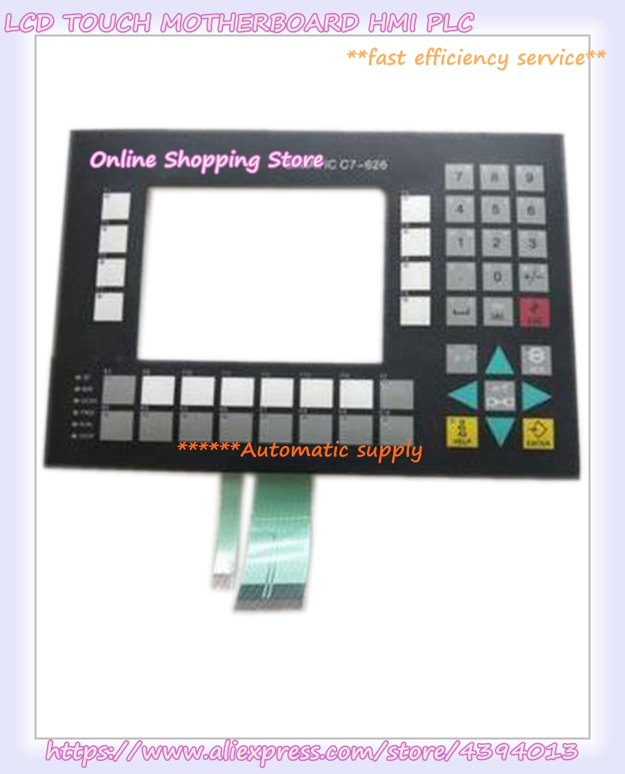 New offer for 6ES7621-6BD01-0AE3 C7-626 Membrane switchNew offer for 6ES7621-6BD01-0AE3 C7-626 Membrane switch