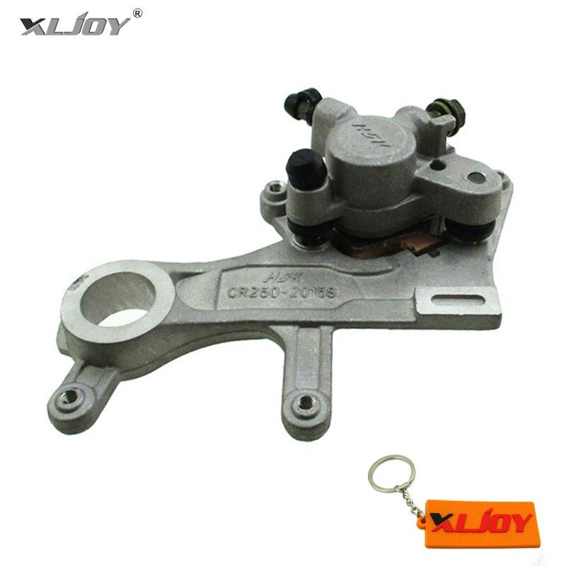 XLJOY Aftermarket Rear Brake Caliper For CRF250R CRF250X 2004 2017 CRF450R CR125R CR250R 2002 2017 CRF450X