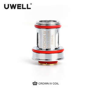 Image 5 - UWELL 4 PCS/Pack Crown 4 Replacement Coil Dual SS904L& Mesh UN2 Coil Head 0.2/0.23/0.4ohm for Crown 4 Electronic Cigarette Tank