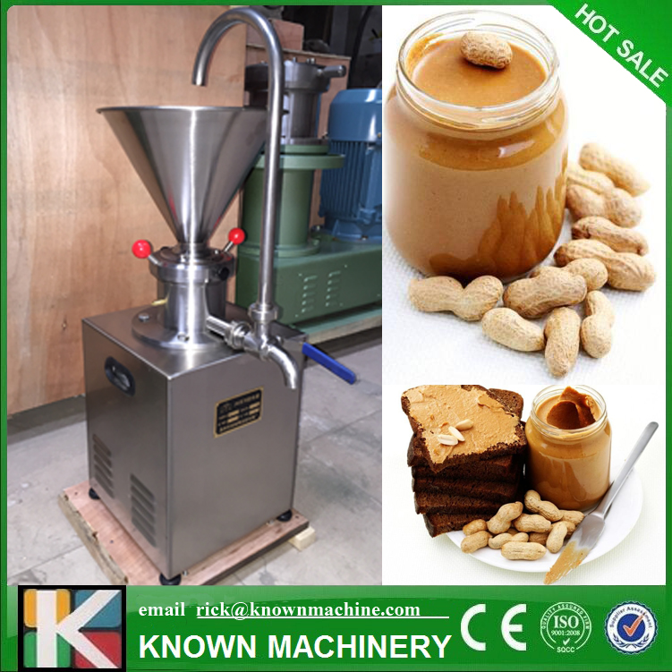 The Best Selling KN-C60 Superfine Grinder Colloid Mill For Grinding Peanut Butter, Sesame Paste With Return Device