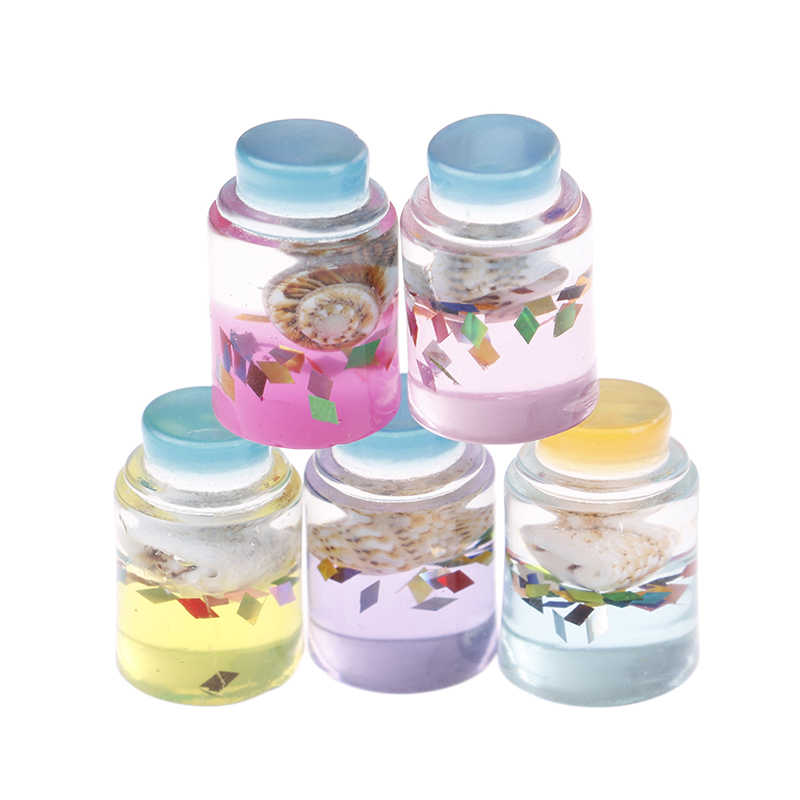 5Pcs Slime Star Glass Bottle Filler Clear/Fluffy Mud Box Popular Toys DIY Kit Modeling DIY Lizun Clay Accessories For Kids