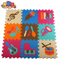 Esteira do jogo Do Bebê Tapete Infantil Jogos Playmat Crianças Esteiras de Atividade Para As Crianças Do Bebê Tapete Crawling Mat Piso Macio instrumento musical