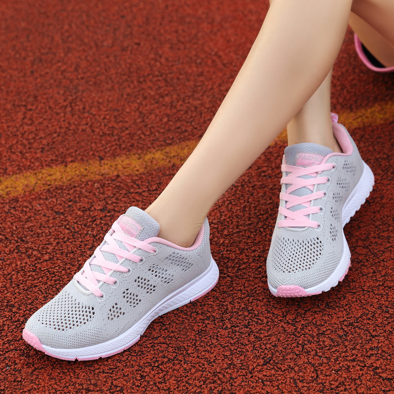 Women Seakers 2019 New Arrival Breathable Mesh Women Running Shoes Chaussures Femme Summer Sport Shoes Woman