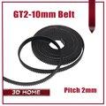 Hot sale 2meter GT2 10mm open timing belt width 10mm GT2 belt GT2 10mm for 3D