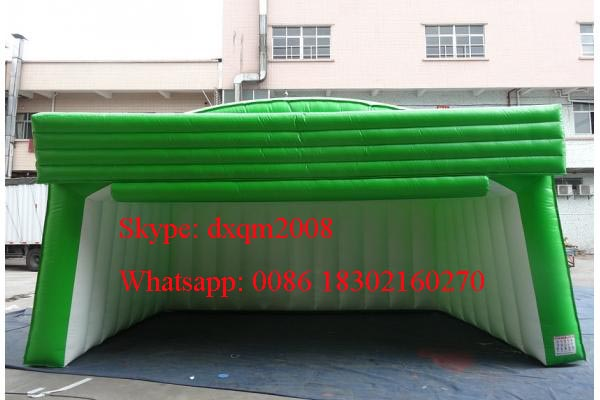 Shanghai Manufacturer Inflatable Stage Cover Black Large Inflatable Event  Tent With Blower/ Colorful Inflatable Tent