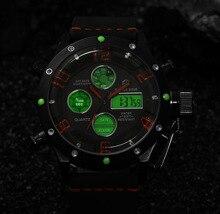 Top Brand Эксклюзивная Модная Мужские Часы Мужской черный пояс световой часы старинные часы Кожа повседневная мужские часы