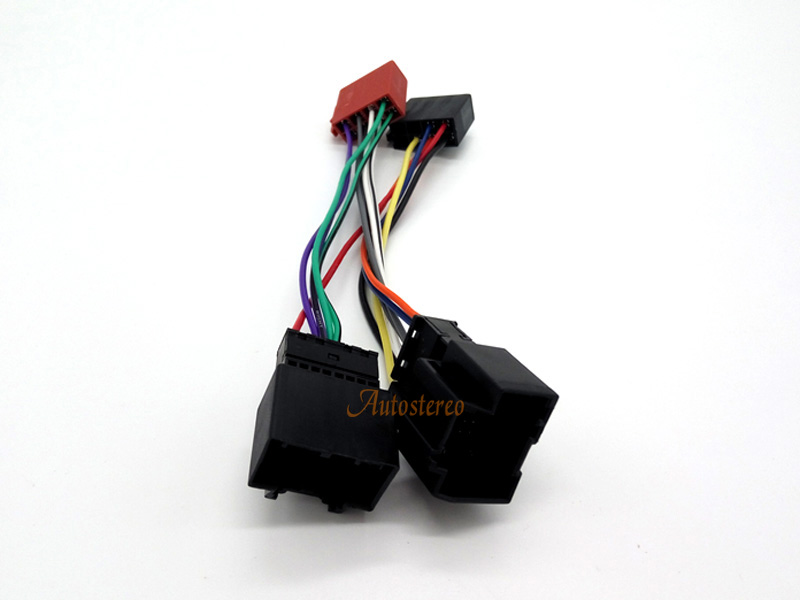 12 006 ISO Wiring Harness Radio Cable Adapter for Chevrolet Opel Wire Leads aliexpress com buy 12 006 iso wiring harness radio cable adapter Chevy Engine Wiring Harness at soozxer.org