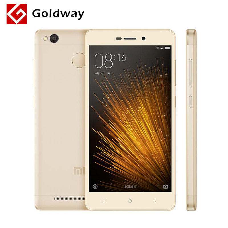 "Original Xiaomi Redmi 3X 3 X 32GB ROM Mobile Phone Snapdragon 430 Octa Core 5.0"" 1280x720 2GB RAM 4100mAh Battery Fingerprint ID"