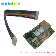 einkshop 500 Chip Decoder Compatible For HP DesignJet 500 500ps 510 800 800ps 815 820MFP 90 100 110 111 120 130 10PS 20PS 50PS power supply assembly for hp designjet 90 100 110 120 130 c7790 60091 q1292 67038 q1293 60053