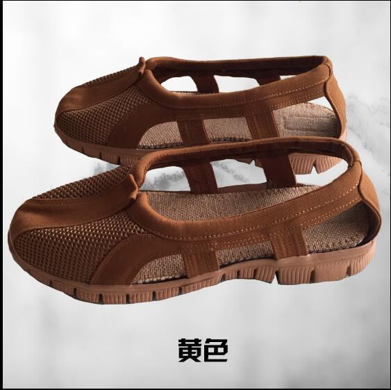 Summer Rohan shoes Mesh surface Monk shoes Fashion classic style Nun shoes