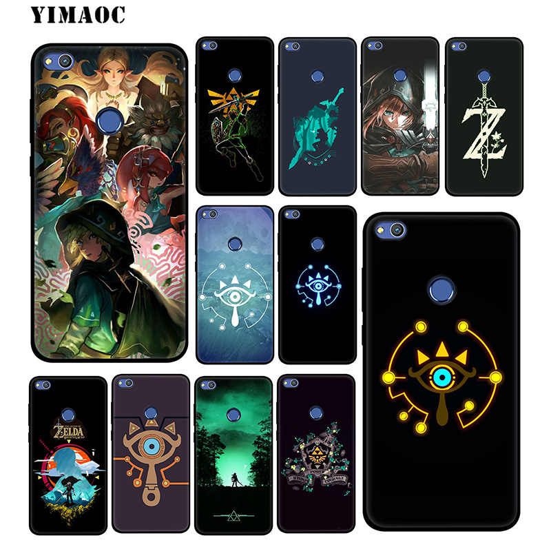 The Legend of Zelda Soft Case for Huawei Mate 20 10 P30 P20 Pro P10 P9 P Smart Z 2019 & Nova 3 3i Lite for P30 Lite