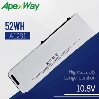 10.8V 52Wh A1281 A1286 ( 2008 Version ) laptop battery For MacBook Pro 15 MB470 MB471 MB772 MB772*/A MB772J/A