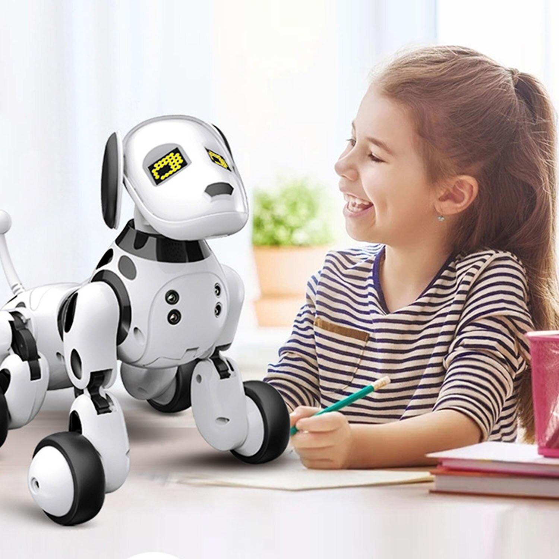 remoto sem fio interativo robo filhote cachorro 05
