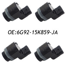 4PCS PDC Ultrasonic Parking Sensor Fits Ford Volvo 6G92-15K859-JA 6g9215k859ja