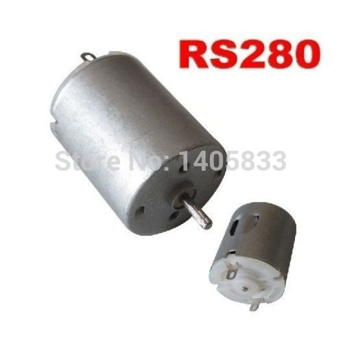 RS280 280 Carbon Brush Motor for DIY RC Model Electric Car Helicopter Airplane Boat mos rc airplane lipo battery 3s 11 1v 5200mah 40c for quadrotor rc boat rc car