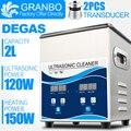 Digital Ultrasonic Cleaner 0.8L 1.3L 2L 3.2L Navio da Rússia Estoque 40 Ultra-sônica Khz 220V plug UE Entrega Rápida banho Máquina de Lavar Roupa