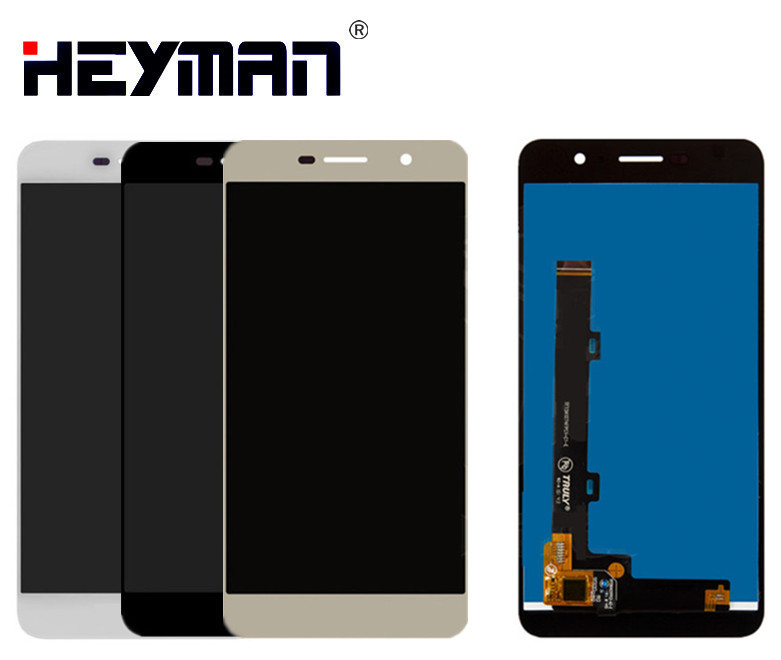 Heyman <font><b>LCD</b></font> with Touchscreen for <font><b>Huawei</b></font> Enjoy 5, <font><b>Y6</b></font> <font><b>Pro</b></font> <font><b>TIT</b></font>-<font><b>AL00</b></font> <font><b>LCD</b></font> display screen Digitizer Glass Panel Front Replacement image