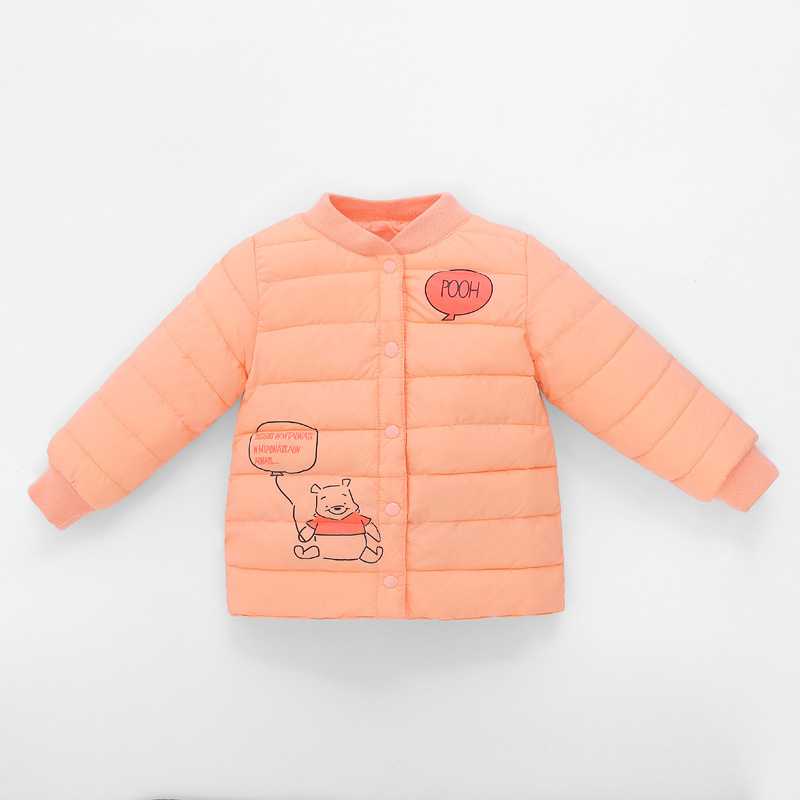 Kindstraum 2017 New Children Cartoon Parkas Winter Kids Thick Down Wear Fashion Single Breasted Coats for Girls,RC1523 цены онлайн