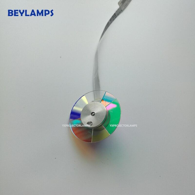 Оригинальное Новое цветное колесо проектора для проекторов Optoma HD141X / GT1080 /GT1070X, хорошая цена